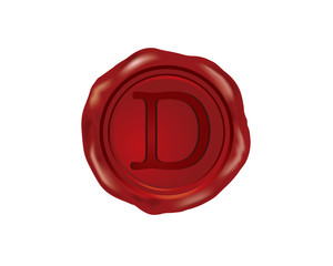 D Wax Seal Alphabet