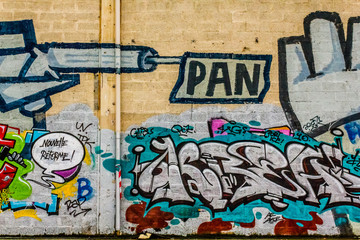 Graffiti Street Art Nouvelle réforme