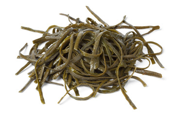 Soaked sea spaghetti