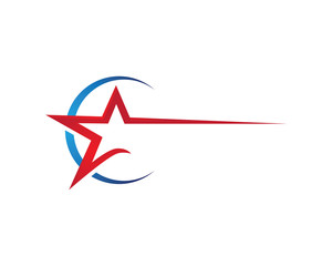 Red Star Logo Template