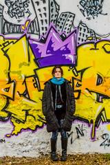 Graffiti Street Art  et Femme