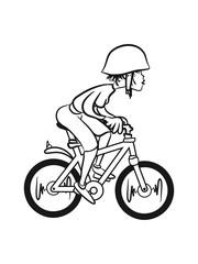 bike girls helmet is cool