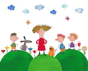 Illustration for children