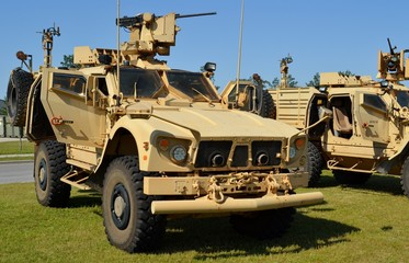 Mine Protected Ambush Resistant (MRAP) Vehicle