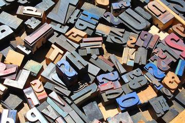 Brocante / Lettres en métal