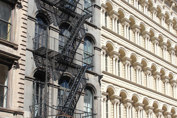 New York City / Fire escape