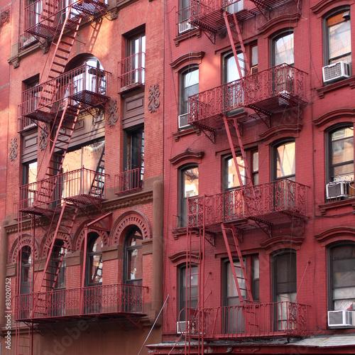 Fire Escape New York City 1940s : Quot new york city fire escape photo libre de droits sur la