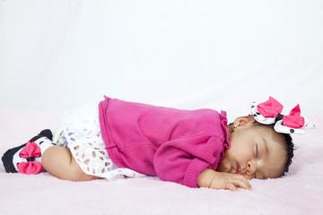 Bebita durmiendo