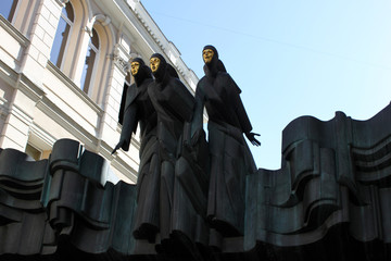 Three Muses. Lithuanian National Drama Theatre