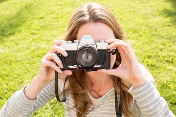 Woman camera