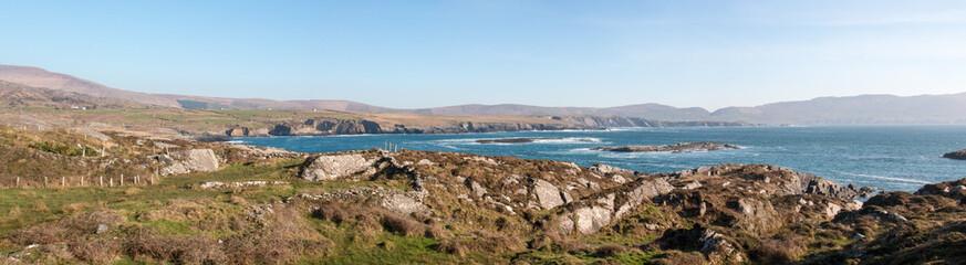 Beara Peninsula Panoramic view landscape Near Ardgroom Ireland
