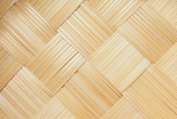 Abstract weave bamboo texture background