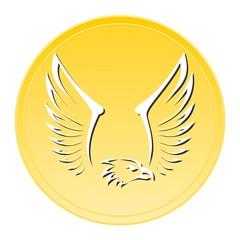 Eagle Gold Icon
