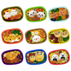 Creative bento for kids