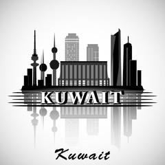 Modern Kuwait City Skyline Design