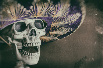 Mexican Bandit Skeleton 1
