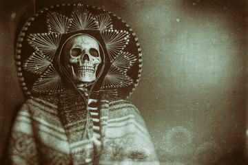 Mexican Bandit Skeleton 2