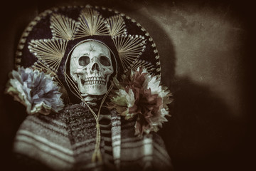 Mexican Bandit Skeleton 3