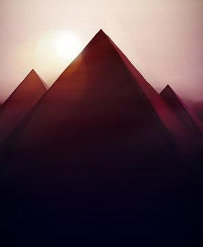 Pyramids Background