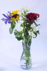 Mazzo di fiori in vaso