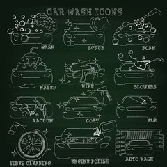 car wash chalk