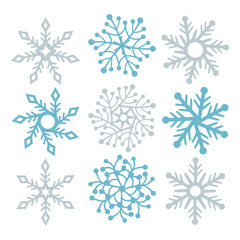 Snowflake filigree