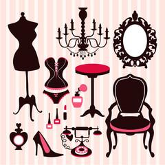 French Boudoir Design Elements