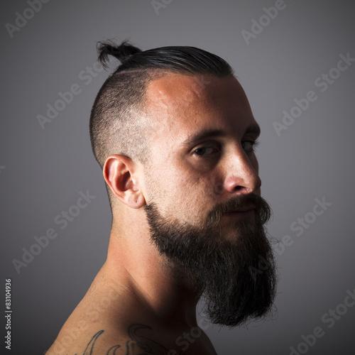 hipster frisur mann zopf - frisur