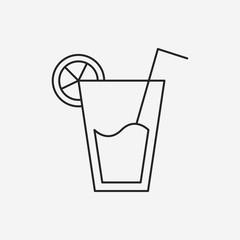 juice line icon