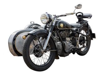 altes antikes oldtimer Motorrad, vintage bike