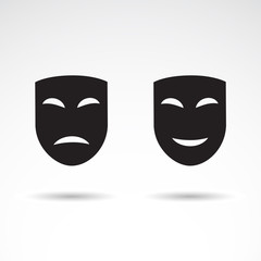 Masks VECTOR icon.