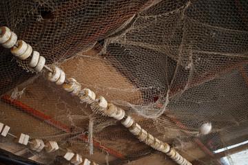 Old fishing net