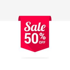 Sale 50% Off Long Shadow Ribbon