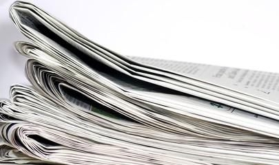 Information durch Zeitung