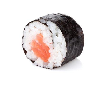 Sushi maki with salmon