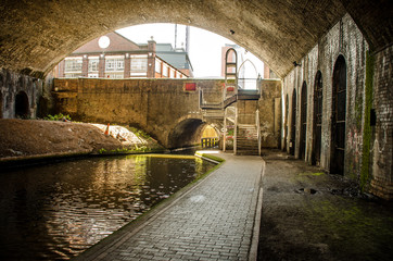 Poster Channel Birmingham City Canals