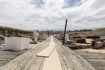 Lake Mead Drought Damage