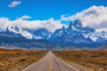 The road through the desert