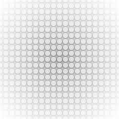 Circles in a row. Vector