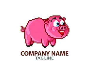 Pixel Pig Logo