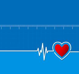 Cardiograms. Medical heart rhythm.Heart beat.Cardiology backgrou
