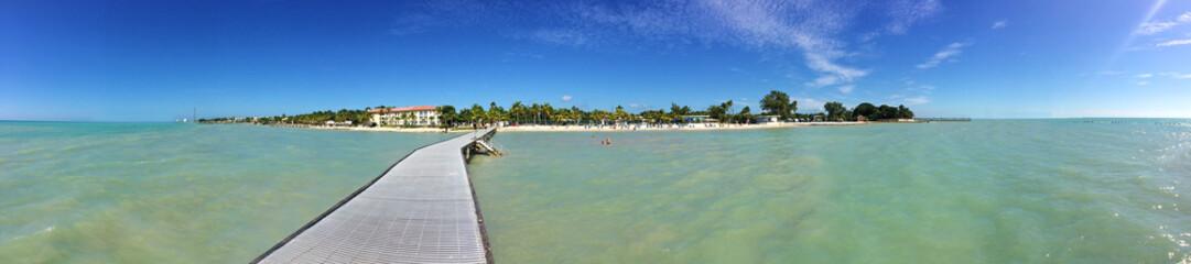 Key West, Florida - Panoramaaufnahme