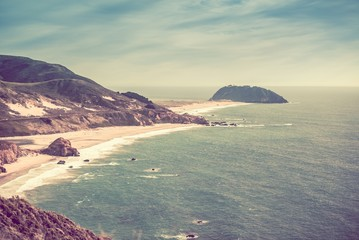 Sunny California Coast