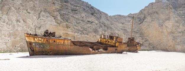 Acrylic Prints Shipwreck The famous Navagio Shipwreck beach in Zakynthos island
