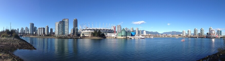 sunny day in vancouver