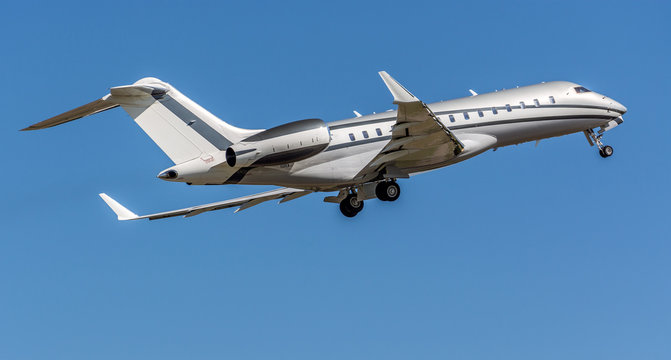 Bombardier Global 6000 private aircraft