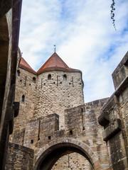 Cité médiéval de Carcassonne et ses fortifications