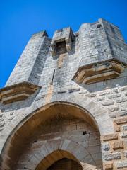 Ville fortifiée d'Aigues-Mortes, porte d'entrée et fortifications