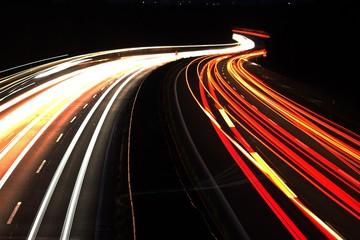 Nacht Autobahn