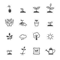 sprout icons